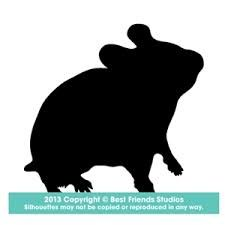 225x225 Hamster Silhouette Clip Art. Download Free Versions Of The Image