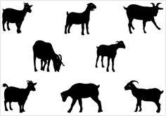 236x165 Boer Goat Silhouette Clipart Panda
