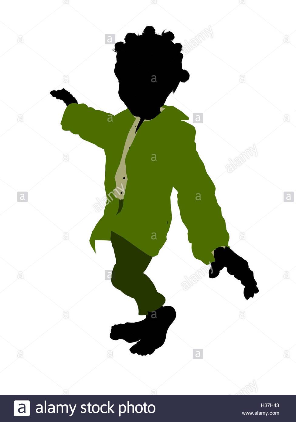 975x1390 Dwarf Silhouette Illustration Stock Photo 122483651