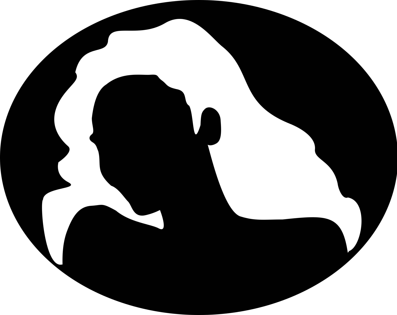 2643x2100 Woman Silhouette Svg Clip Art For Girls Dxf Files Digital Art