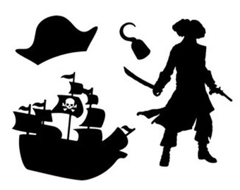 340x270 Pirates Silhouette Svg Dxf File Instant Download Silhouette Cameo