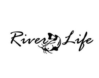 340x270 River Life Fish Decal Stencil Svg Dxf File Instant Download