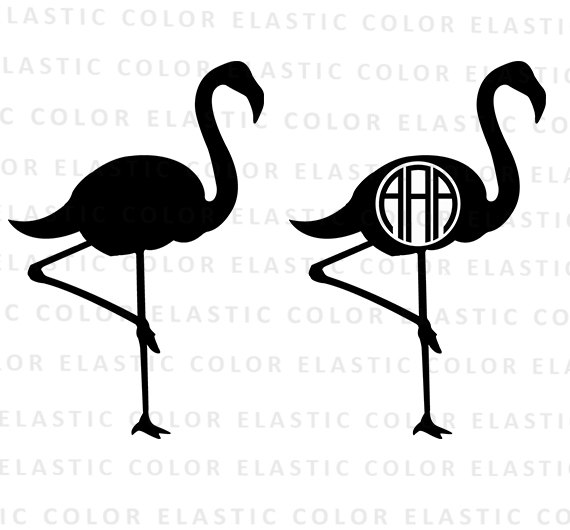 570x530 Flamingo Svg