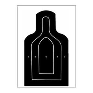 300x300 Us Dept. Defense M9 25 Meter E Type Silhouette Target Pack