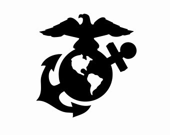 Eagle Globe And Anchor Silhouette at GetDrawings com | Free
