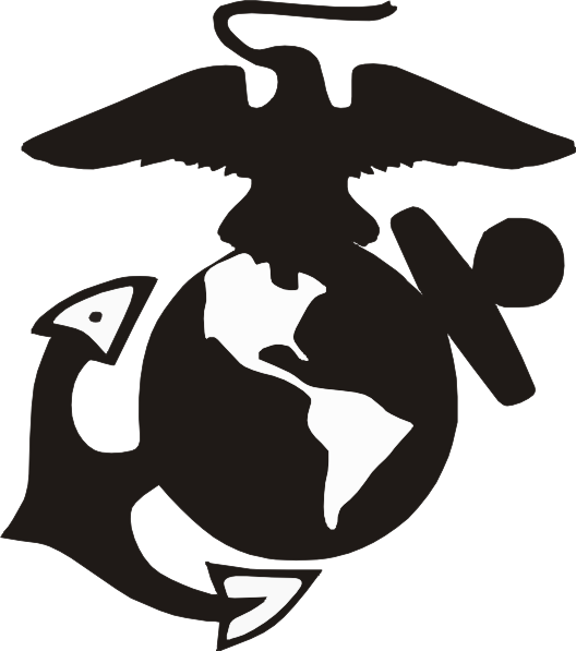 528x597 Usmc Emblem Clip Art Marine Logo Clip Art Usmc