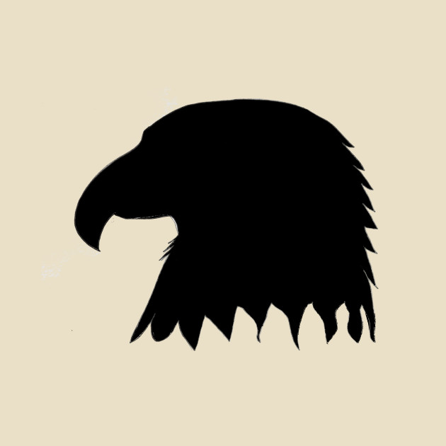 630x630 Eagle Head Silhouette