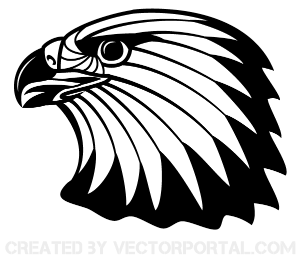 600x521 Eagle Head Vector Clip Art Download Free Vector Art Free Vectors