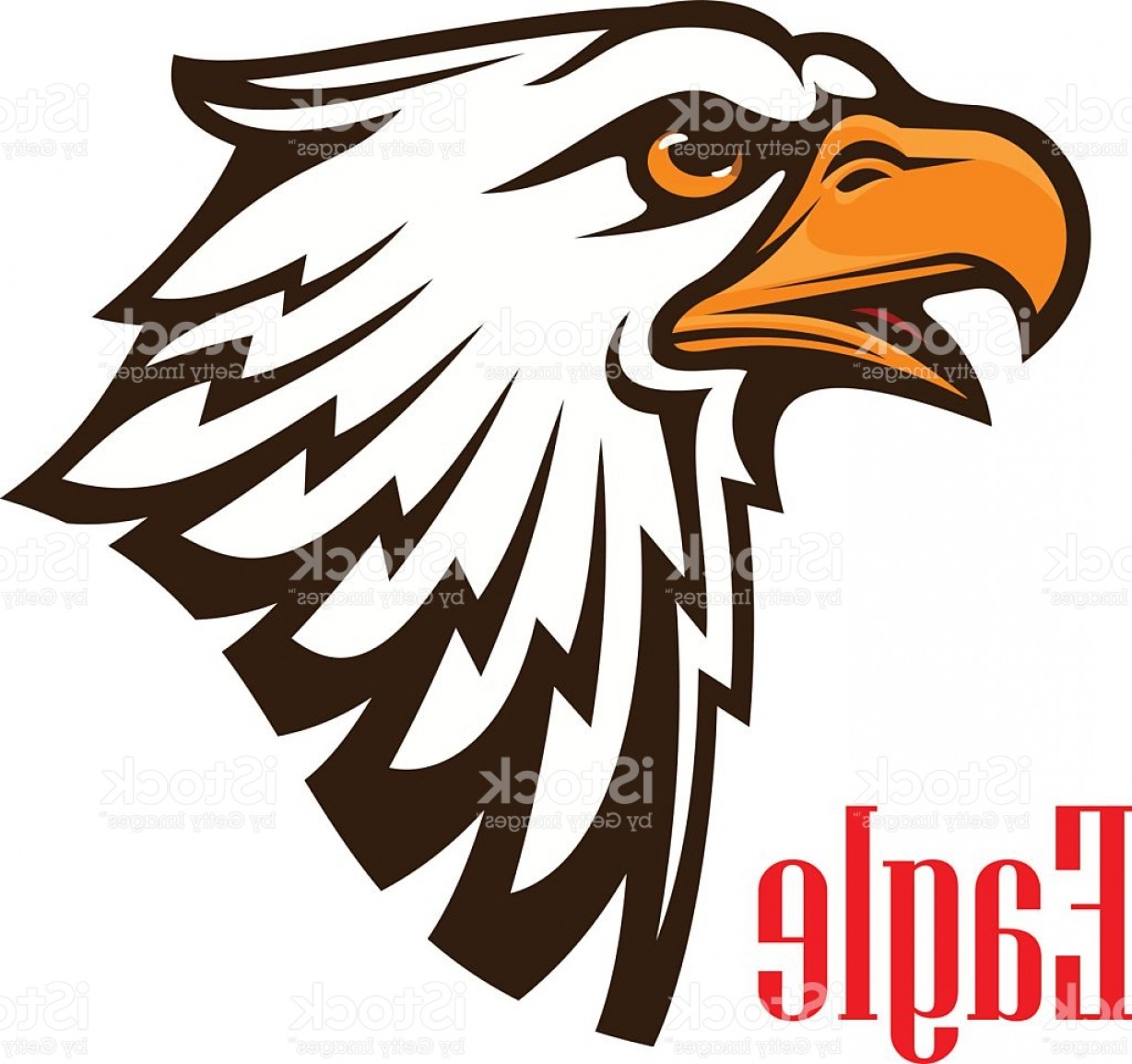 1228x1154 Eagle Head Vector Mascot Emblem Gm Arenawp