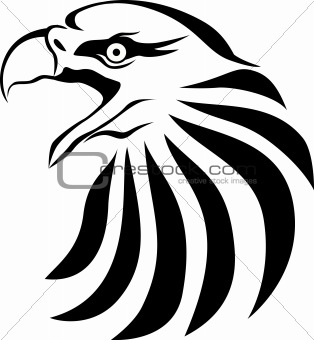 314x340 Image 4445539 Eagle Head Silhouette From Crestock Stock Photos