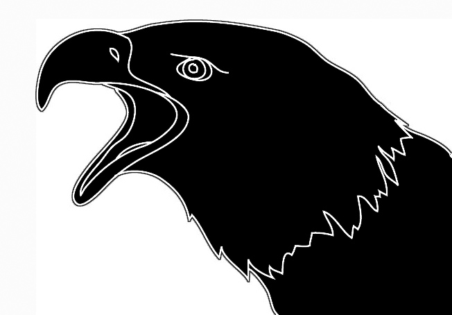 652x454 Screaming Eagle Head Clipart