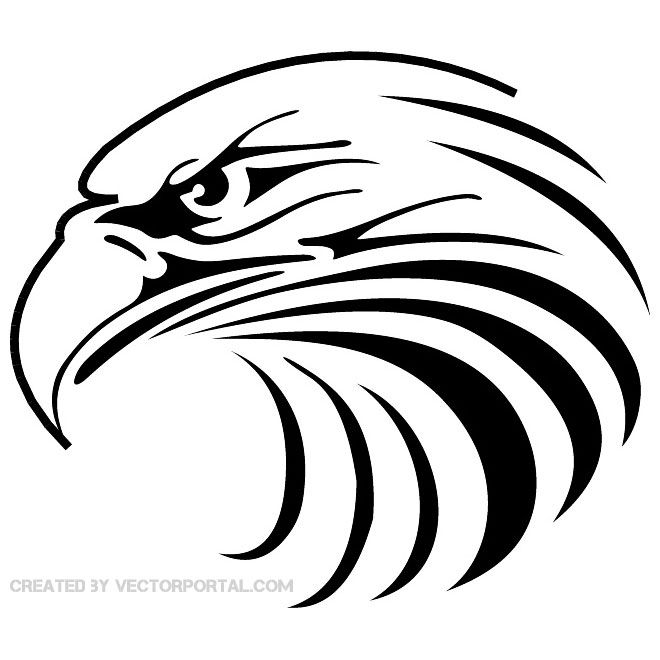 660x660 Eagle Head Vector 2.eps Laser Cut Eagle, Cricut
