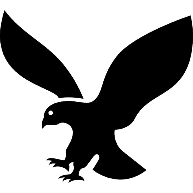 626x626 Eagle Silhouette In Flight Icons Free Download