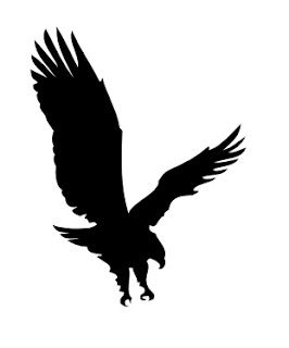 266x320 Mtcscal E Files A Full Eagle In Flight Silhouette Free Svg