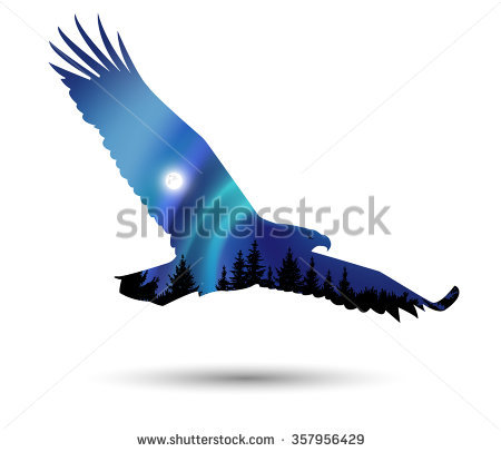 450x406 Tawny Eagle Clipart Flight Silhouette