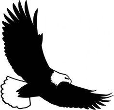 236x227 Eagle Silhouette Vector Illustration Eagle Silhouette