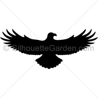 336x334 Great Hawk For School Hawk Silhouette, Tattoo