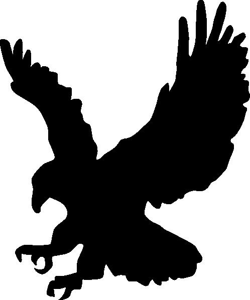 498x598 Silhouette Of Eagle