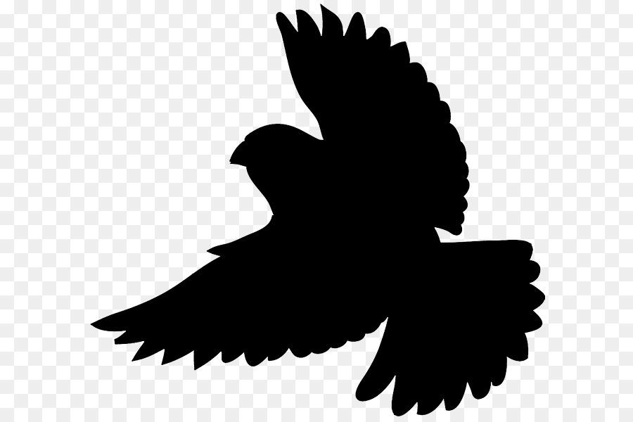 900x600 Bird Silhouette Clip Art