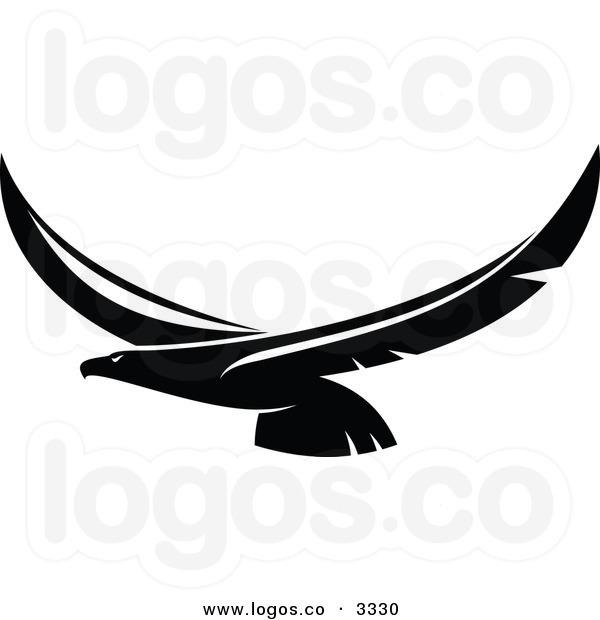 600x620 Black Eagle Clipart Soaring Eagle