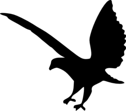 256x226 Eagle Silhouette 2 Clipart I2clipart