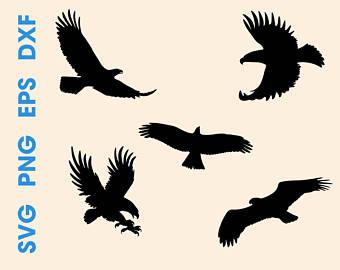340x270 Eagle Silhouettes Etsy