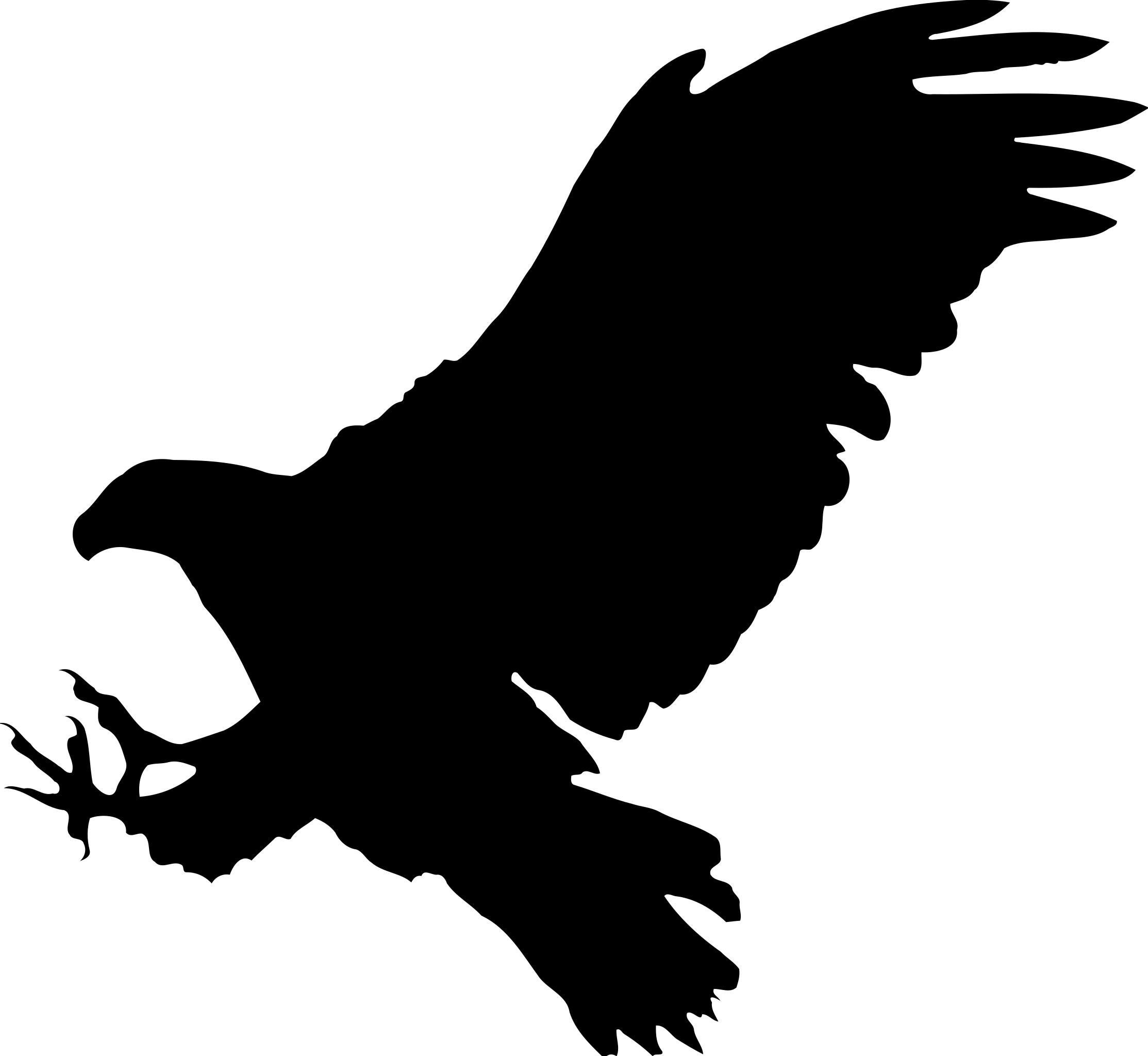 2227x2048 Eagle 9 Silhouette Clipart