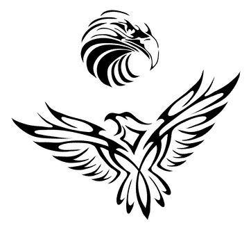 362x331 Eagle Tattoo Future Tattoos Eagle Tattoos, Tattoo