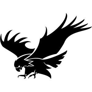 300x300 Eagle Attacking Vector Image Eagle Eagle