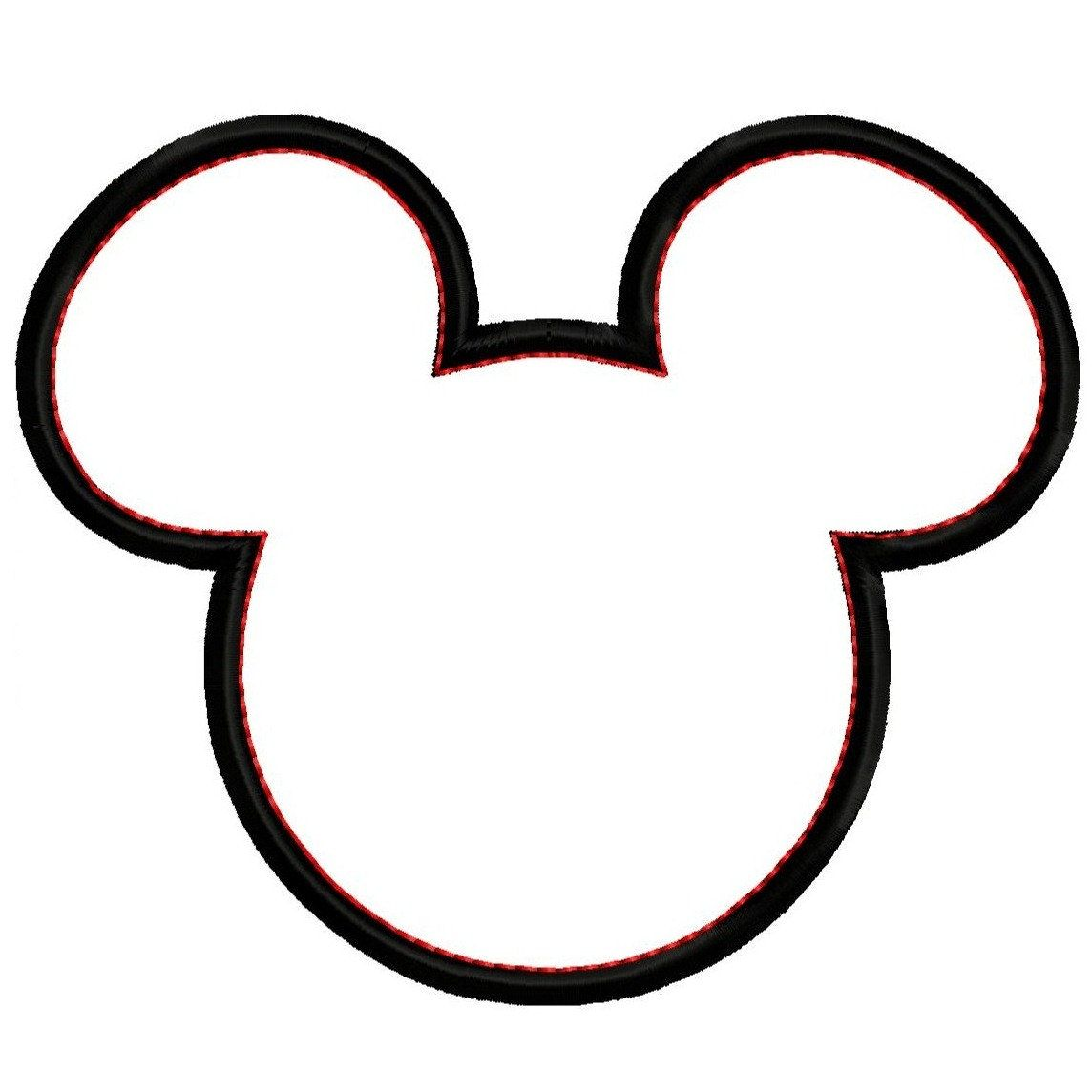 1144x1144 Mickey Mouse Head Silhouette Clipart Panda Free Clipart Images