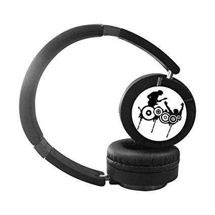 425x425 E Head Band Silhouette On Ear Wireless Stereo Headset