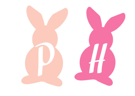 570x403 Easter Bunny Silhouette Designs Cricut Designs Svg Png