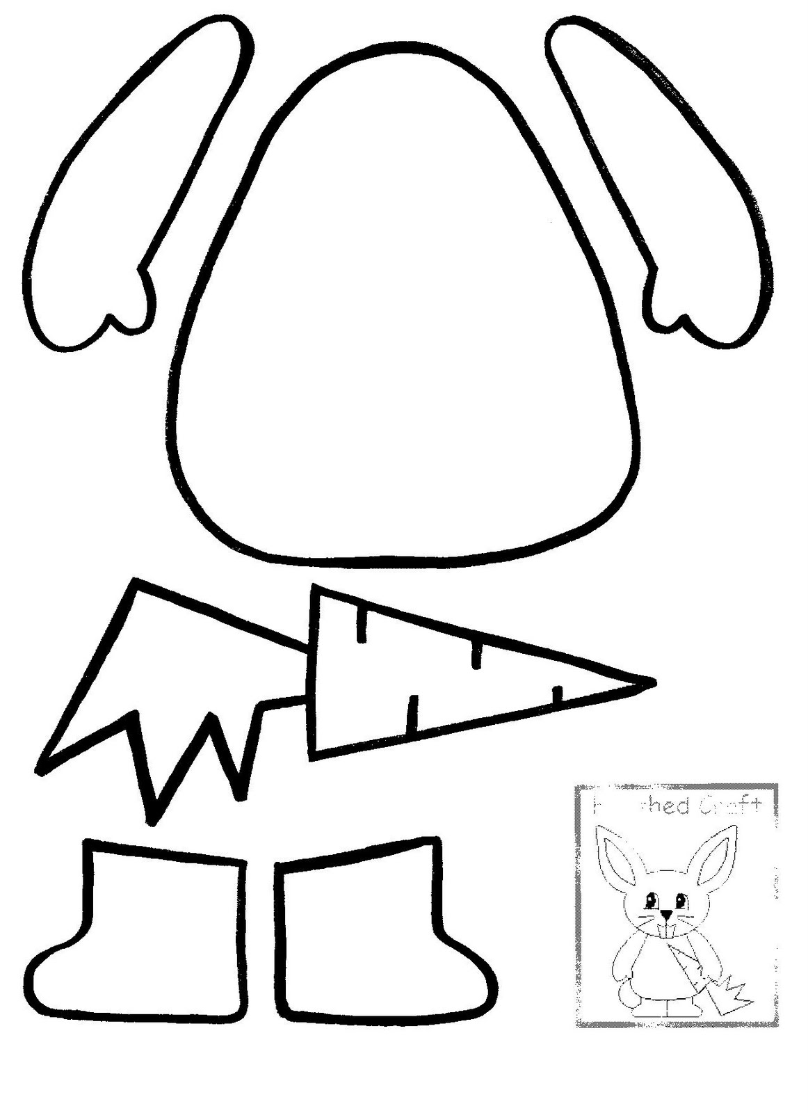 easter bunny silhouette printable at getdrawings com free for