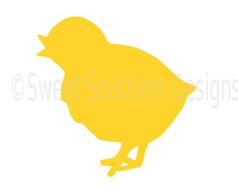340x270 Easter Chick Svg Etsy