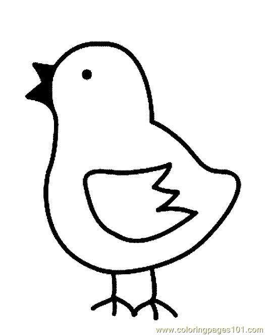525x662 How To Draw A Chick Step 4. Pin Chick Clipart Line Drawing 10