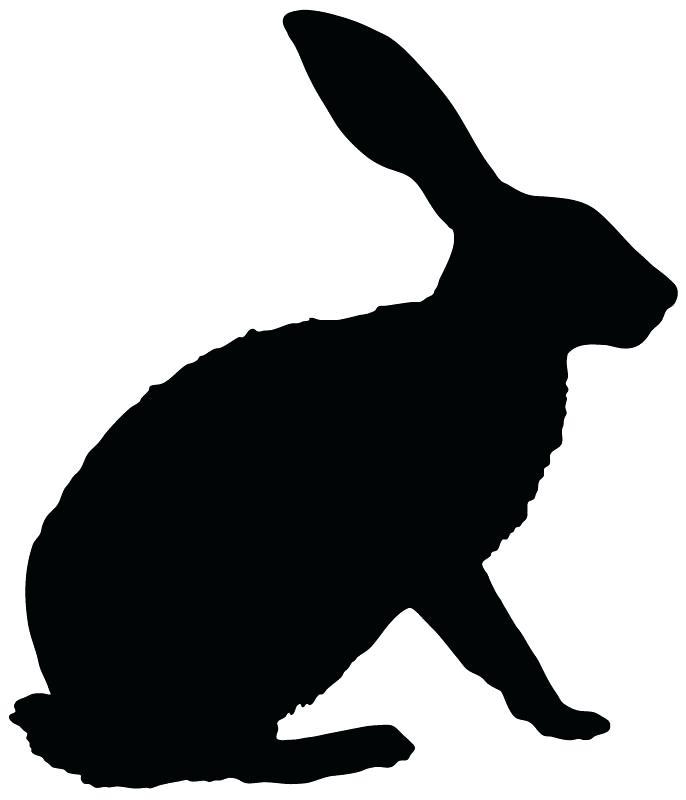 686x800 Bunny Outline Printable Bunny Outline Printable Vector