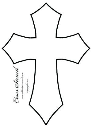 300x415 Free Pictures Of Crosses Free Cross Of Cross Silhouette Image