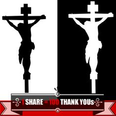 236x236 A Silhouette Of Christ On The Cross. Easter Theme. Vertical Colour
