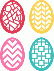 230x300 Silhouette Online Store Easter Egg Card