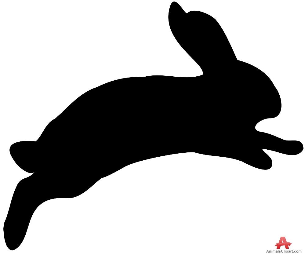 999x835 Bunny Head Silhouette Clipart