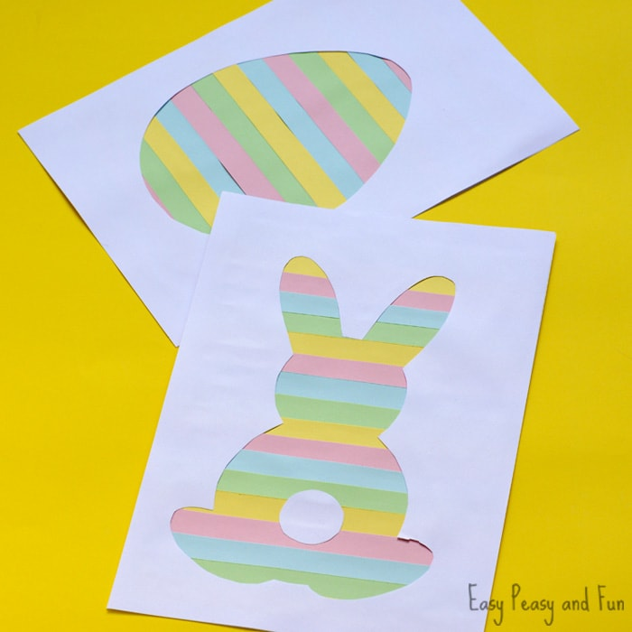 700x700 Printable Easter Silhouette Craft