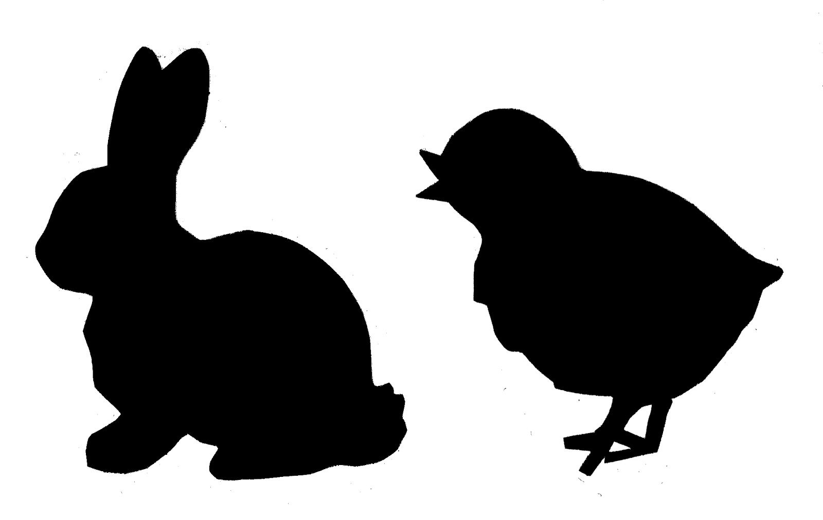 1600x1012 Chick Silhouette