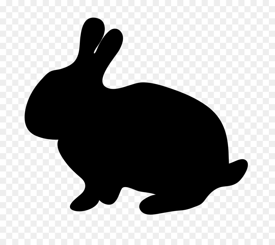900x800 Easter Bunny Hare Rabbit Silhouette Clip Art