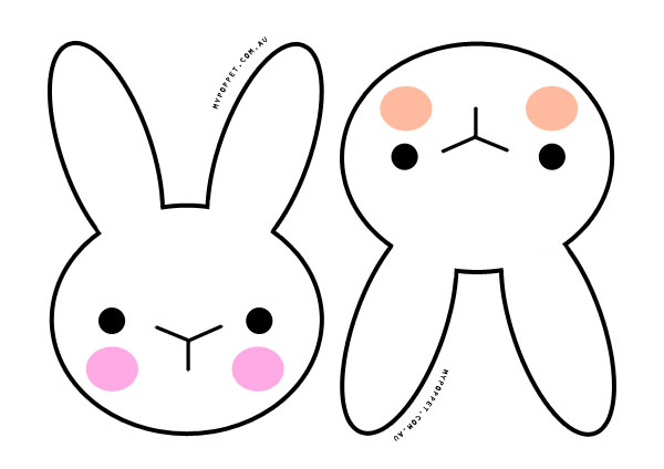 600x424 Easter Bunny Silhouette Printable Head Clipart Easter Bunny 17