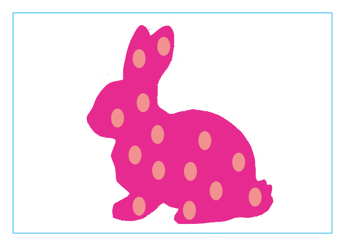 672x480 Easter Bunny Silhouette Printable Head Clipart Easter Bunny 17