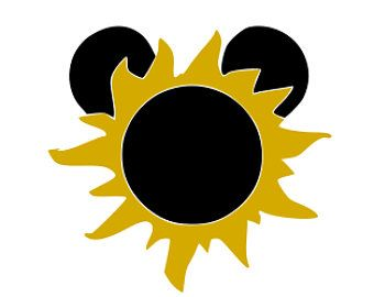 340x270 Disney, Mickey Sun, Tangled Sun, Mickey Eclipse, Disney Vacation