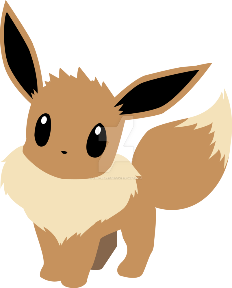 803x996 Eevee Vector By Lucyrules20