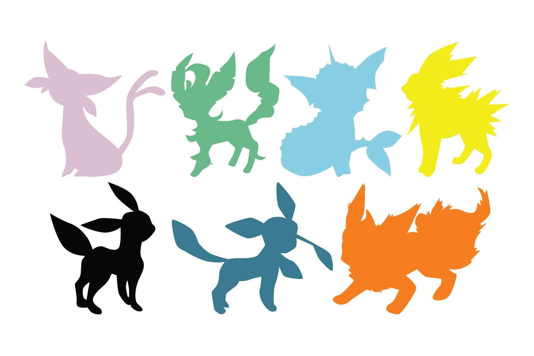 1728x1152 Pokemon Eevee Evolution Eeveelutions Vaporeon Flareon Jolteon