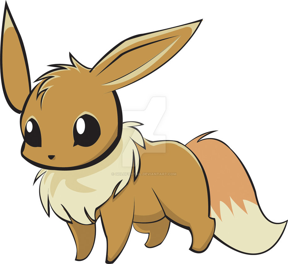 933x857 Eevee No.133 By Goldfoxtail