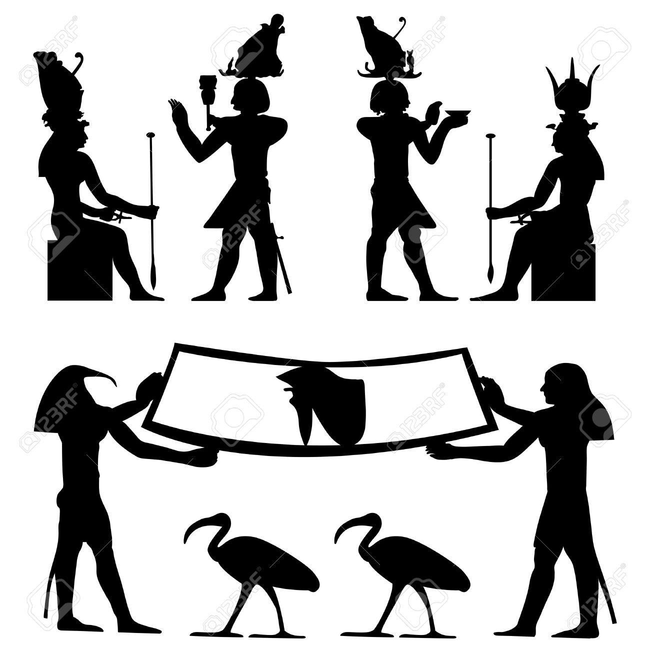 1300x1300 Hieroglyphs Clipart Egyptian Art
